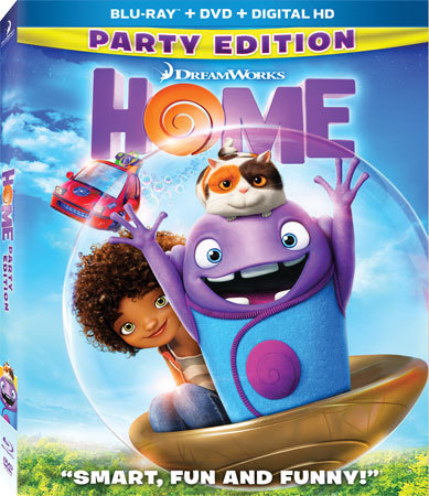 HOME Blu-ray Cover