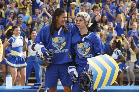 Jay and Carlos make the team