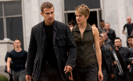 Four and Tris worry about their future