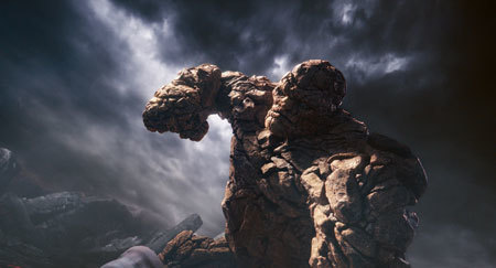 Ben Grimm becomes rocky Thing