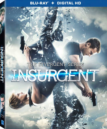 Insurgent Blu-ray Cover