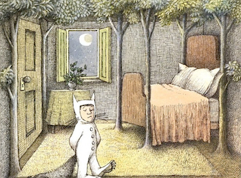 Max adventures into an imaginary world in Where the Wild Things Are