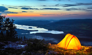 Sleep well in your tent tonight!