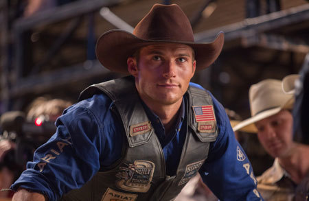Scott Eastwood portrays Luke, a former champion bull rider looking to make a comeback