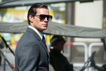 Henry as Solo (the shades make the man)