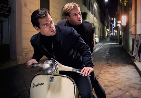 Solo and Kuryakin look for trouble
