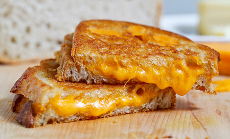 Grilled cheese can always please!