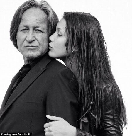 Bella and her father Mohamed