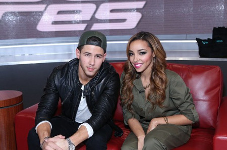 Tinashe and Nick Jonas