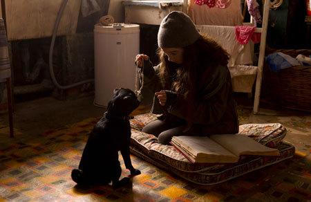 Molly tries hypnotizing dog Petula