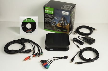 The Hauppauge HD PVR 2 Gaming Edition Capture Card.