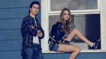 Cara and Paper Towns co-star Nat Wolff