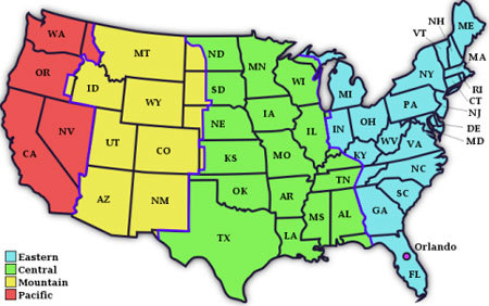 Us Time Zones Travel Center United States Maps United Maps Usa Us - Current time zone map of the us