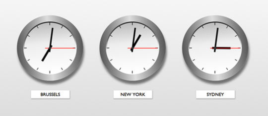 Feature world clocks feat