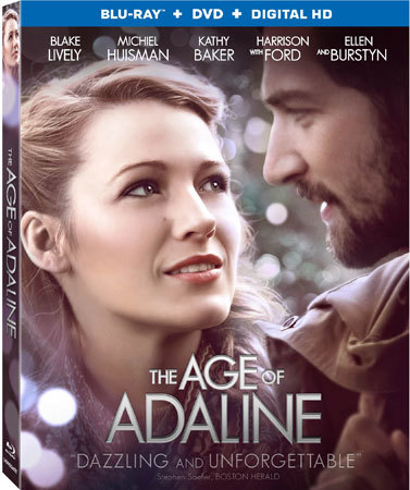 The Age of Adaline Blu-ray