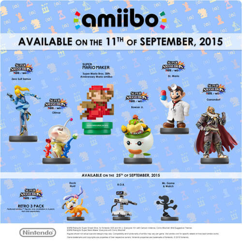 The amiibos are coming!