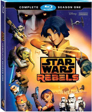 Star Wars Rebels: Complete Season One is now available on Blu-ray