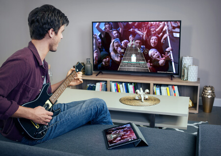 Play Guitar Hero Live in your living room and on the go!