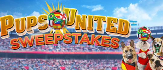 Pups United Sweepstakes!
