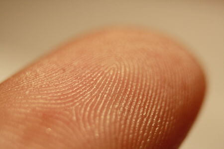 Fingerprints have been used to solve crimes since the early 20th century