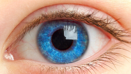 Having blue eyes can make you more sensitive to light than those with brown eyes!