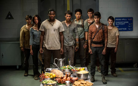 The Gladers at the WCKD party