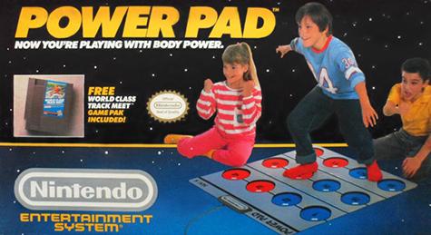 original Power Pad advertisement.