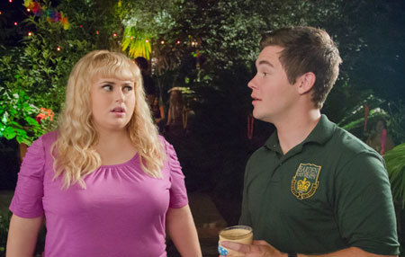 Amy (Rebel Wilson) and Bumper talk relationship