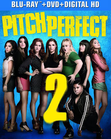Pitch Perfect 2 Blu-ray Cover