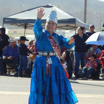 The outgoing Miss Navajo Nation 2014