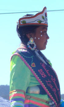 A young Navajo Little Princess
