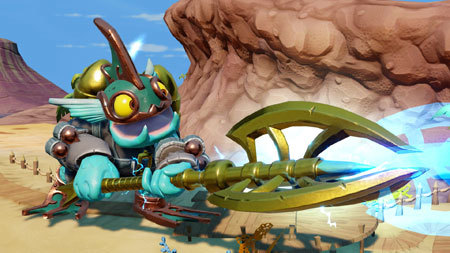 We got to check out Skylanders SuperChargers!