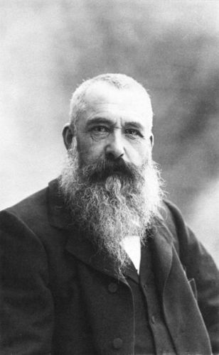 This is Claude Monet, photographed in 1899.