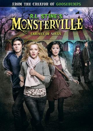 R.L. Stine's Monsterville: Cabinet of Souls DVD