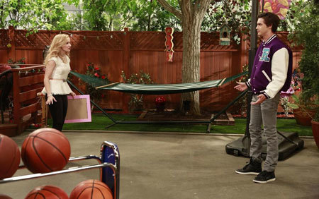 Ryan with Dove on Liv and Maddie