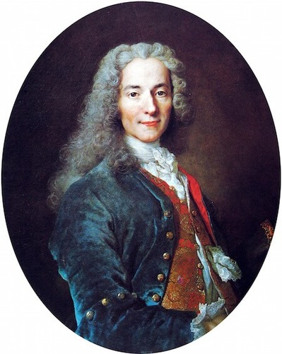 Voltaire was a famous French philosopher who lived in the 18th century.