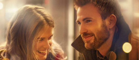 Chris Evans Gets Romantic in Before We Go
