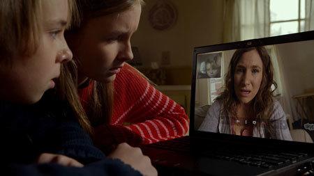 Tyler and Becca Skype their mom