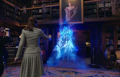 Erin sees Gertrude the Ghost of Aldridge Mansion