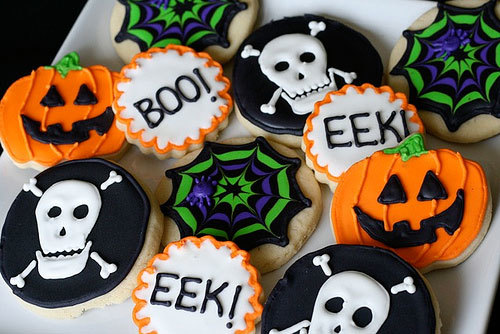 Creepy cookies are great for any Halloween Party
