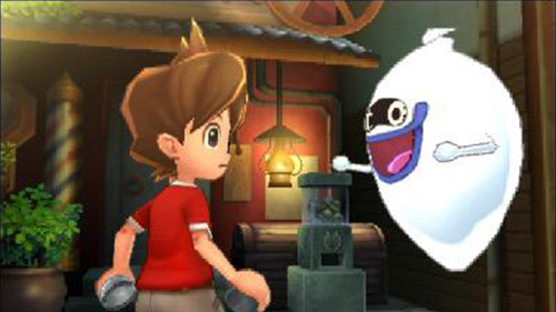 Meeting Whisper is a familiar section in Yo-Kai Watch 2.