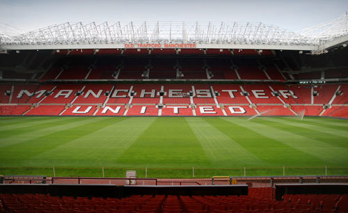 Old Trafford stands