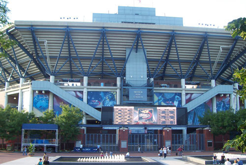 Arthur Ashe Stadium entrance