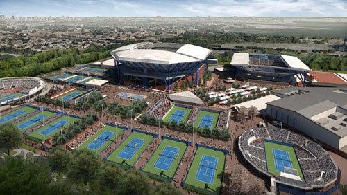 Sports Venues - Arthur Ashe Stadium grounds