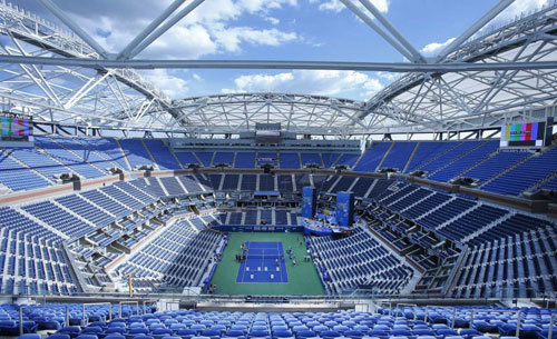 Sports Venues - Arthur Ashe Stadium Center Court