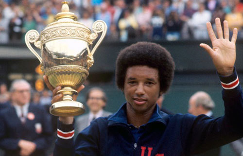 Arthur Ashe was one of the greatest tennis players to ever play tennis