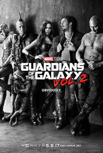 Guardians of the Galaxy Vol. 2 Poster!