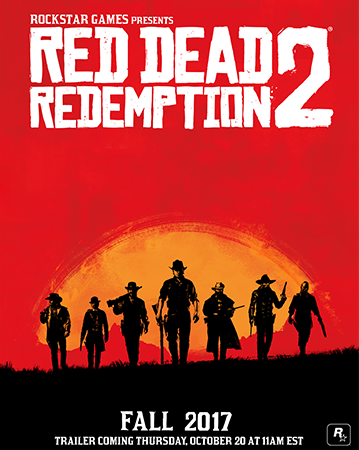 A release date was announceed for the new Red Dead Redemption 2 trailer.