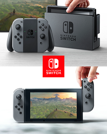 A look at Nintendo Switch's new controller, dock, and screen.