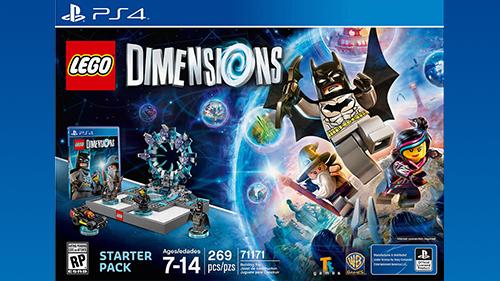 Lego Dimensions PS4 Box Art